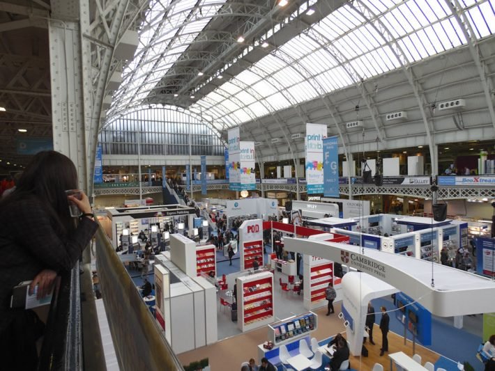 In Olympia London's National Hall, London Book Fair in full swing. Image: Porter Anderson