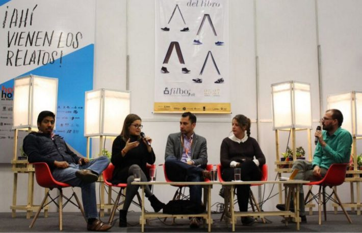 A panel discussion at FILBo