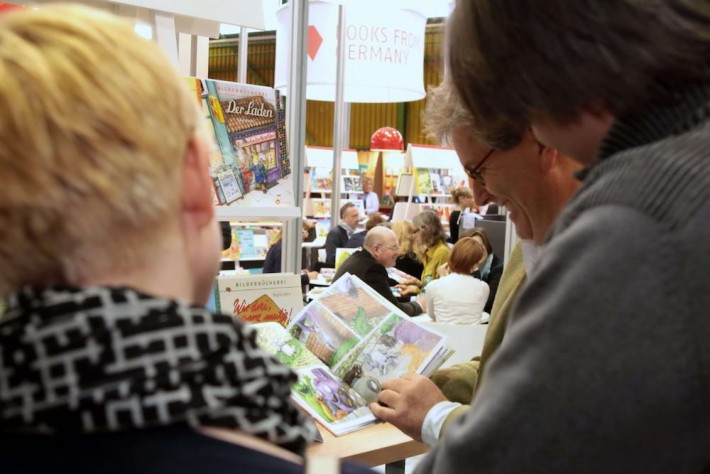 Germany has attended the Bologna Book Fair with a collective stand for over 40 years. (Image: Frankfurter Buchmesse / Pasquale Minopoli)
