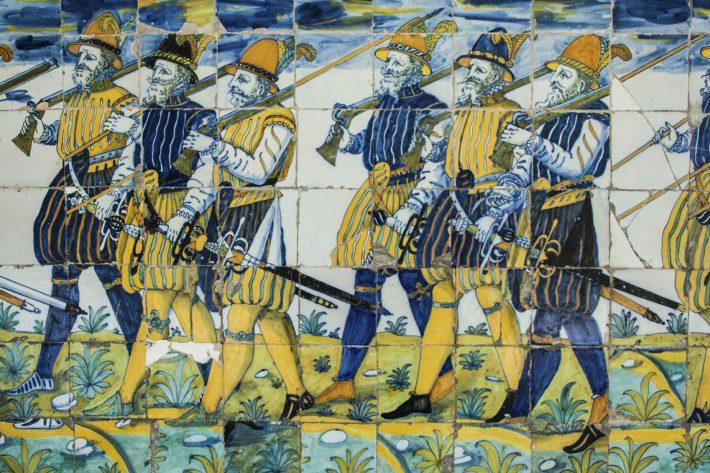 Talavera tiles, Basilica del Prado, Toledo. Image - iStockphoto: Herencias