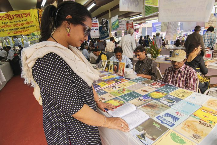 At the Kolkata Book Fair, 2015. Image - iStockphoto: RN Mitra