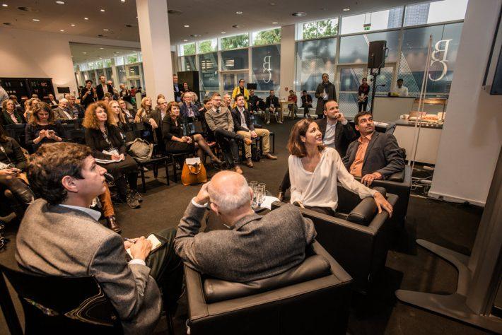 An exclusive program at Frankfurt Book Fair's Business Club 2015. Image: FBM, Bernd Hartung