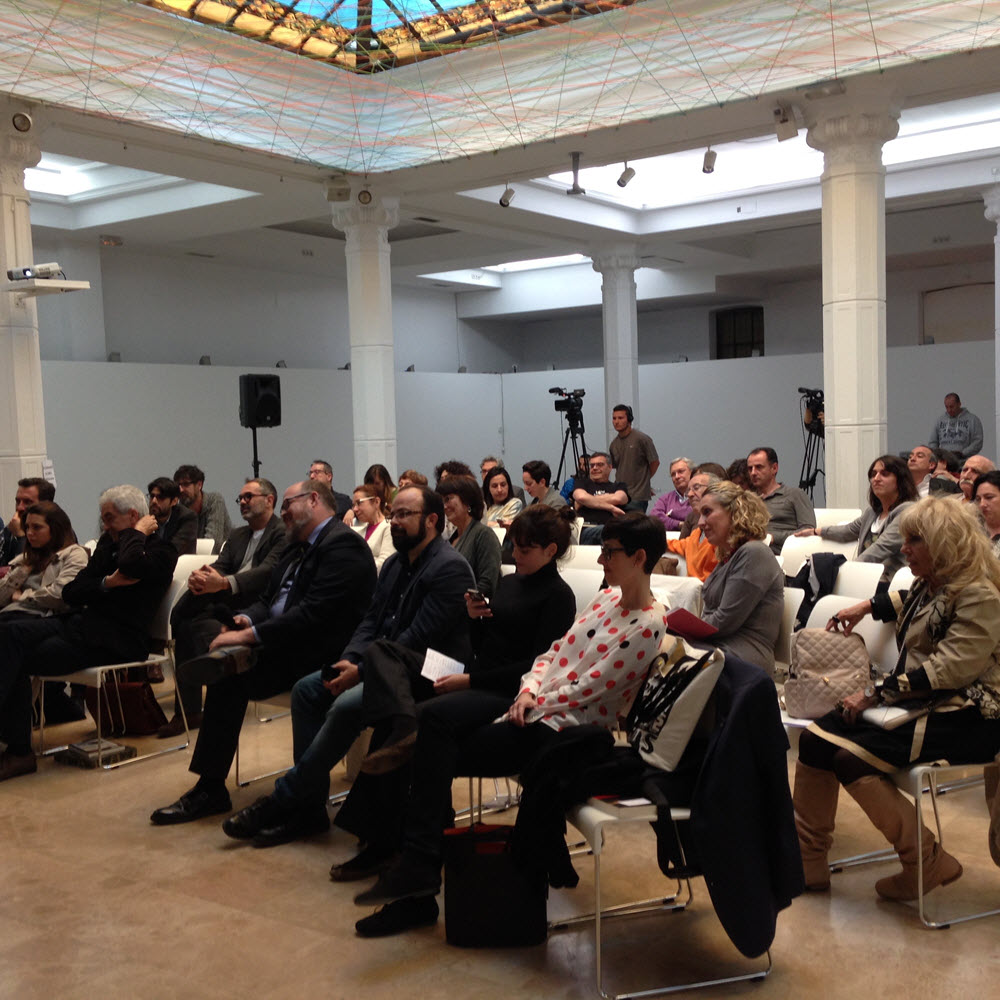 A strong audience for last week's forum at the European Institute of Design. Image: Valentina Morotti