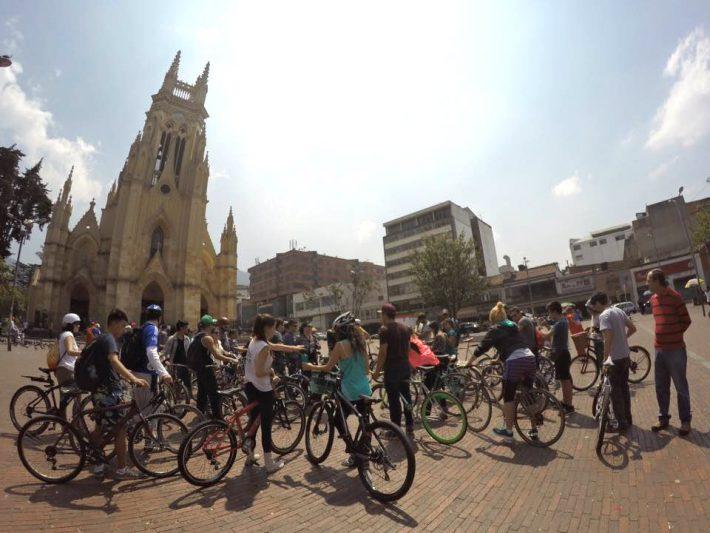 Biking Bogota 1