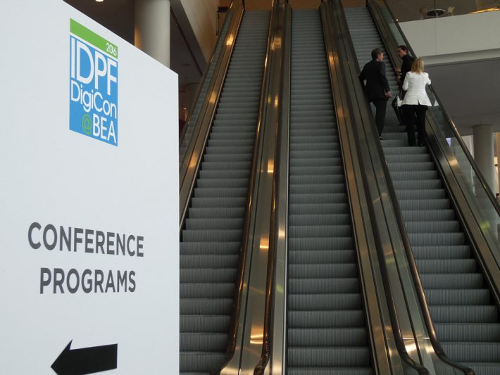 "The IDPF ""DigiCon"" conference is at Chicago's McCormick Place West as BookExpo America opens. Image - Porter Anderson"