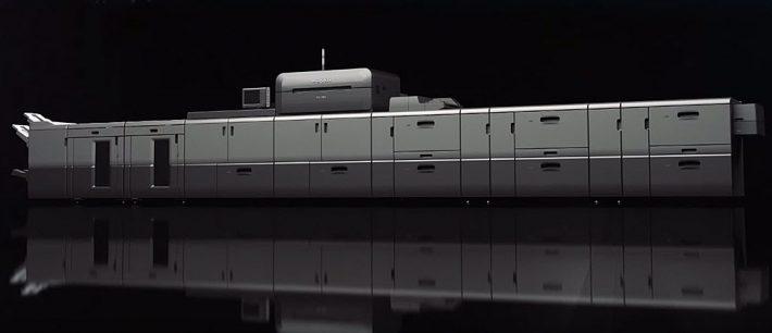 Ricoh's ProC9100 series inkjet digital printing system