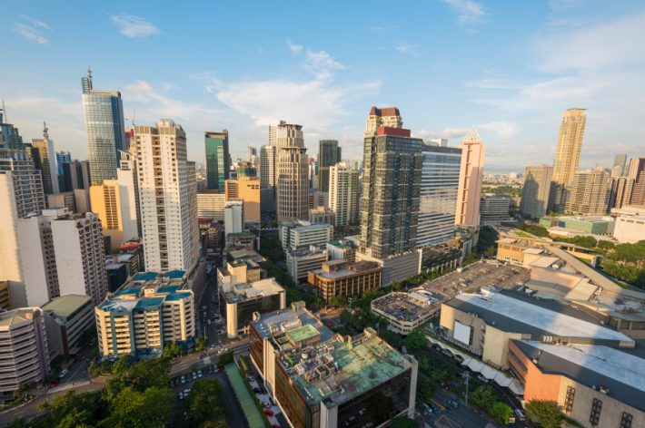 Makati, the financial center of The Philippines, is one of the 16 cities comprised by Metro Manila. Image - iStockphoto: fazon1