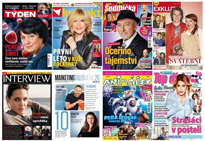 Already an entrenched media conglomerate, the Czech Republic's Empresa Media is entering the books market. Image: empresamedia.cz