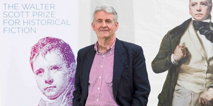 Simon Mawer. Image: The Walter Scott Prize for Historical Fiction
