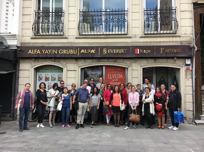 The Tanpinar Istanbul Literature Festival's 2016 fellows and associates met with more than 20 publishers during their introduction to the Turkish publishing market.