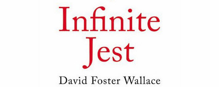 """Excerpt from the cover of the 20th anniversary edition of David Foster Wallace's """"Infinite Jest"""" from Hachette's Back Bay Books."""