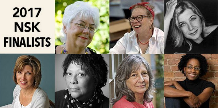 For the first time, finalists in the NSK Prize are all women. Image: NuestadtPrize.org
