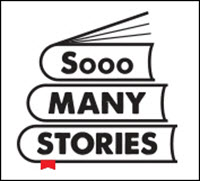 Sooo Many Stories logo lined