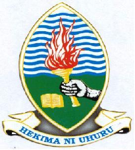 The seal of the University of Dar es Salaam