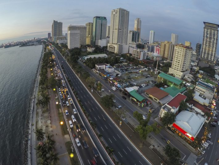 Roxas Boulevard in Manila. Image - iStockphoto: Simon Podgorsek