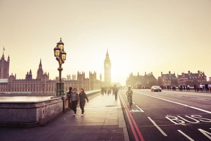 Westminster Bridge, London. Image - iStockphoto: Iakov Kalinin