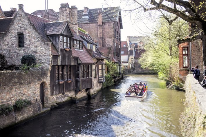 In Bruges, in the province of West Flanders in Belgium. Image - iStockphoto: byakkaya