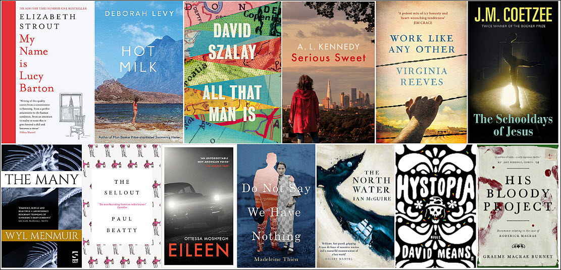 Coetzee And New Faces On The Man Booker Prize Longlist