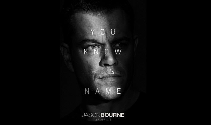 Image: NBC Universal, 'Jason Bourne' publicity material