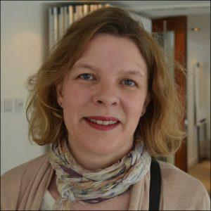 Johanna Brinton. Image: Roger Tagholm