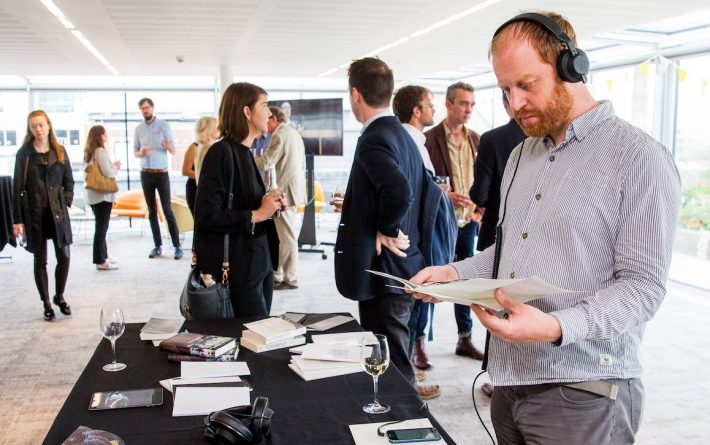 The Ambient Literature project launched at the London headquarters of Hachette UK.