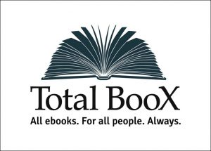 Total Boox logo lined