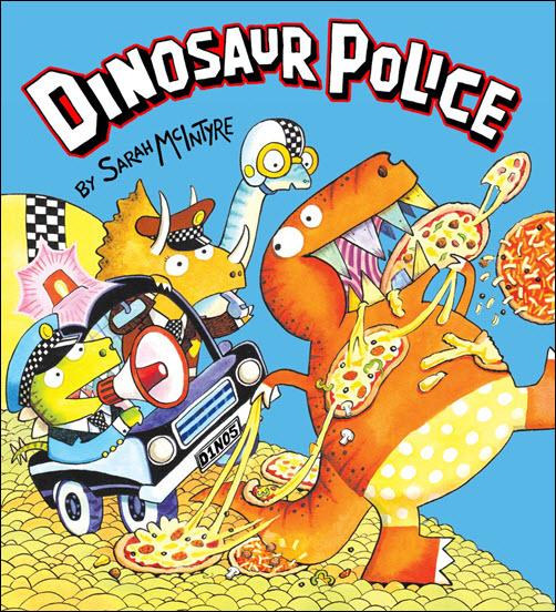 500 Dinosaur Police by Sarah McIntyre big