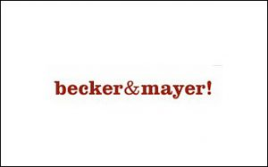 Becker&Mayer logo lined