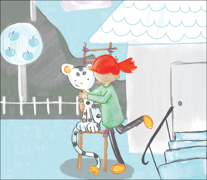 An excerpt of the artwork from Linda Liukas' 'Hello Ruby: Adventures in Coding' from Macmillan/Feiwel and Friends. The book is designed by Eileen Savage.