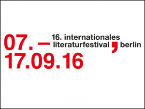 Internationales Literaturefestival Berlin lined
