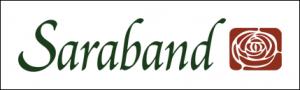 Saraband logo lined