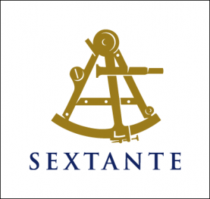 Sextante logo lined