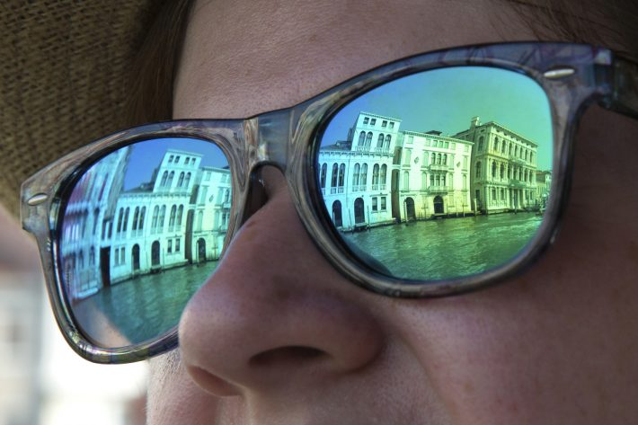 On the Grand Canal, Venice. Image - iStockphoto: Lells P