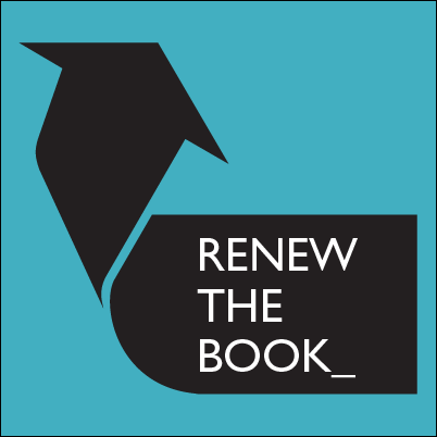 renew the book logo lined