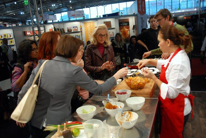 At the 2015 Frankfurt Book Fair Gourmet Gallery. Image: Frankfurter Buchmesse, Nurettin Çiçek