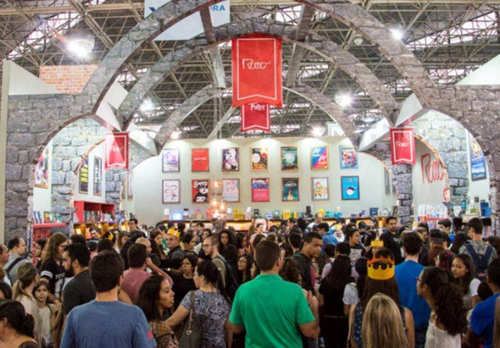 At São Paulo Biennial Book Fair in August. Image: Internacional Bienal do livro