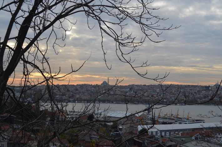 A view across the Golden Horn, or Haliç, in Istanbul. Image: Roger Tagholm