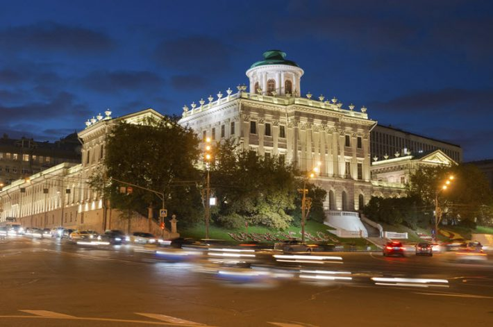 Pashkov House in Moscow. Image - iStockphoto: Kostya 6969