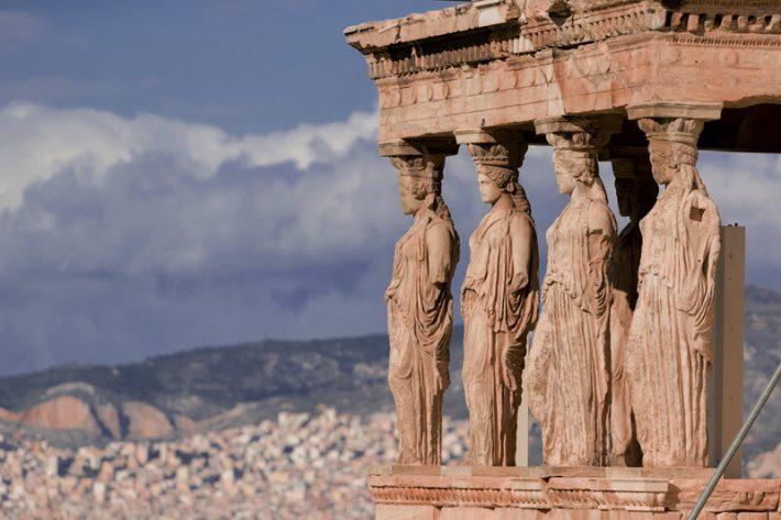 The Acropolis' Erechtheion in Athens. Image - iStockphoto: Christian Offenberg