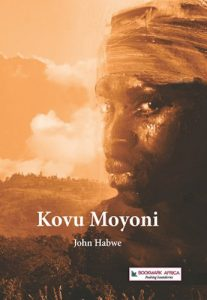 The Worldreader edition of John Habwe's Mutahi Prize-winning 'Kovu Moyoni'