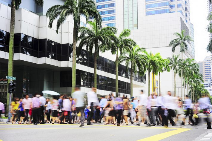 In Singapore. Image - iStockphoto: JoyT