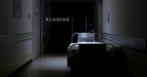 A work by Shaun Hickman called 'Kindred' won the New Media Writing Prize student award in 2015