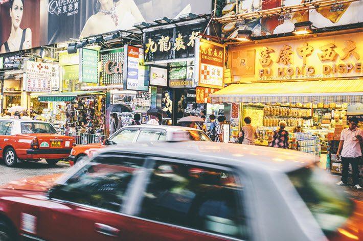 A street in Hong Kong. Image - iStockphoto: Peeter Viisimaa