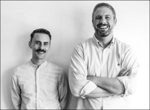 Will Evans, left, and Dallas Sonnier, have formed their cross-platform venture Cinestate in Dallas. Image: Provided by Cinestate