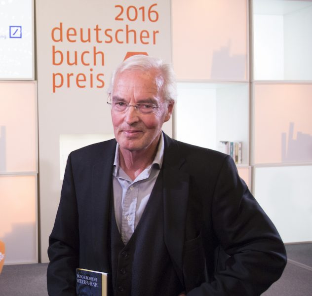 Bodo Kirchhoff won the 2016 German Book Prize for his novel 'Encounter' ('Widerfahrnis') — Photo © Claus Setzer / Börsenverein