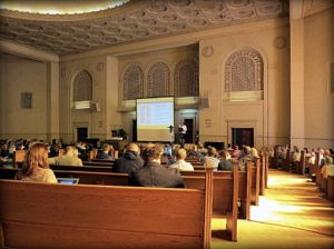 At Books in Browsers 2013 in the Internet Archive sanctuary in San Francisco. Image: Porter Anderson