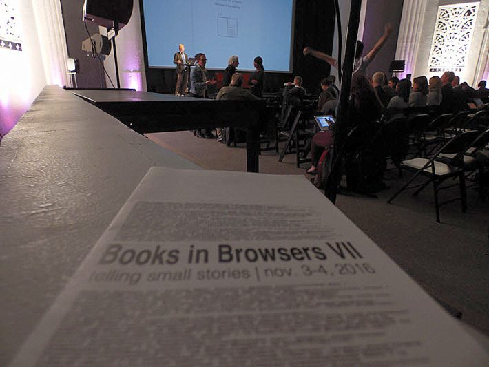 The Books in Browsers conference opens (November 3) at San Francisco's Gray Area Grand Theater. Image: Porter Anderson