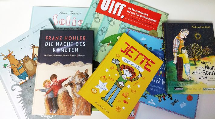 A selection of books from the 2016 German Children's Books on Tour collection, recommended for translation into English by the German Book Office New York