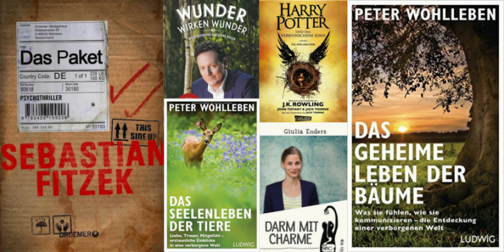 Fiction and Nonfiction: Bestselling Books in Germany in 2016