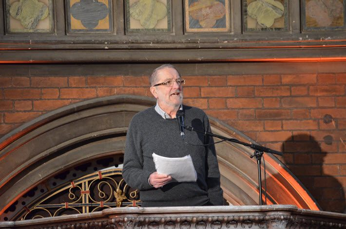 David Carabine at David Miller tribute